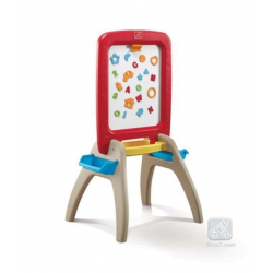 SP826800_18 All Around Easel For Two Red STEP2 Rosu