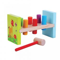 AB4152_15 Jucarie 'Hammer Bench' 8 piese Jumini Multicolor